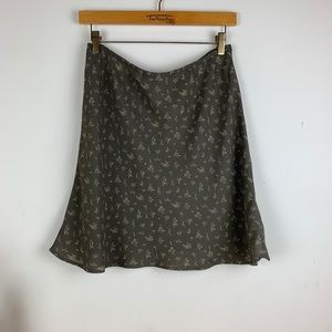 Vintage 90s Floral Layered Mini Skirt
